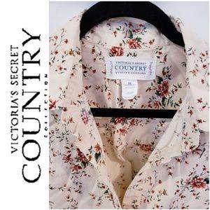 Victoria Secret Country Gown Sleep Shirt. Sz Med